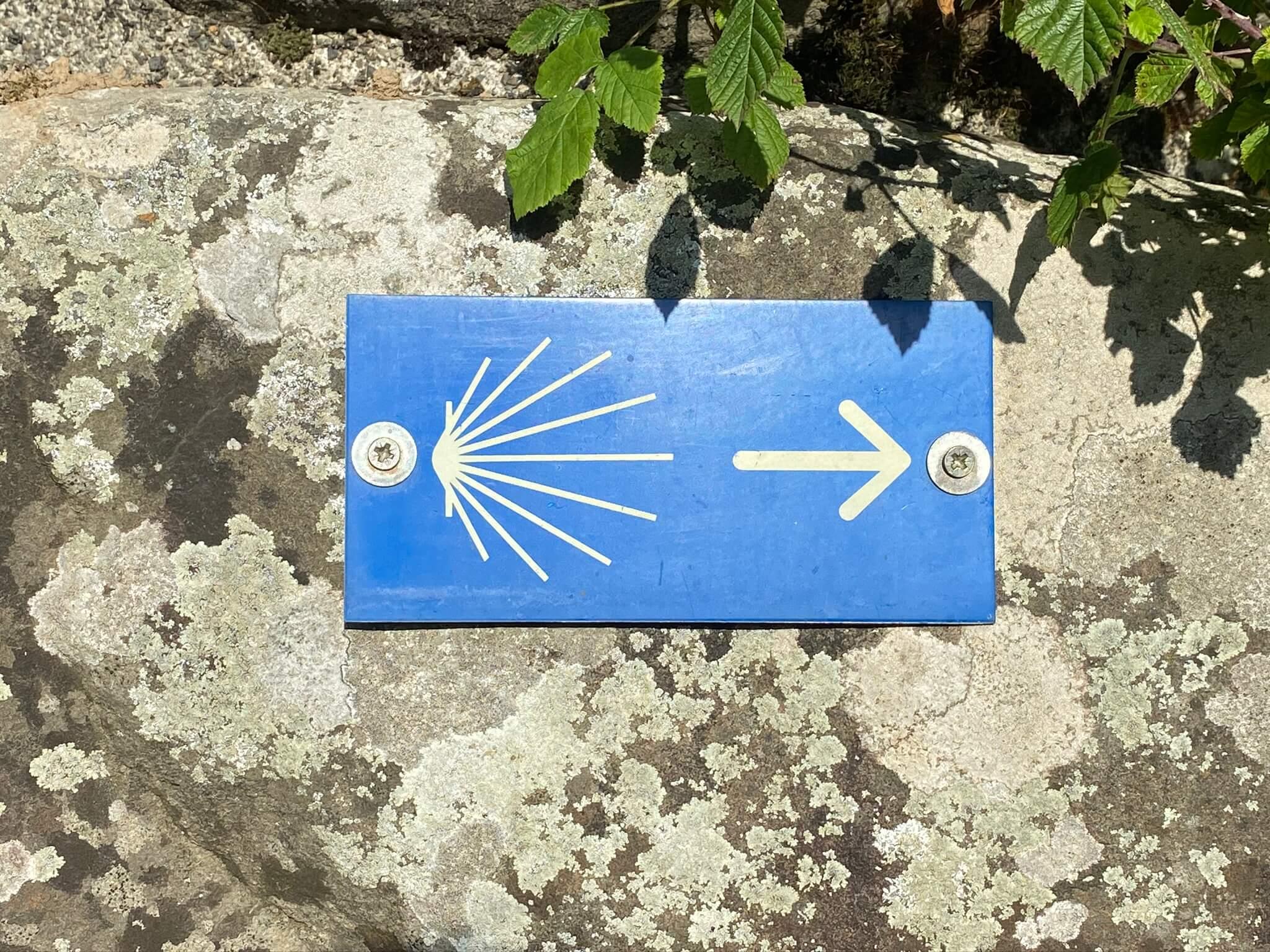 Le chemin de Compostelle (La Voie d'Arles) passe à Bedous
