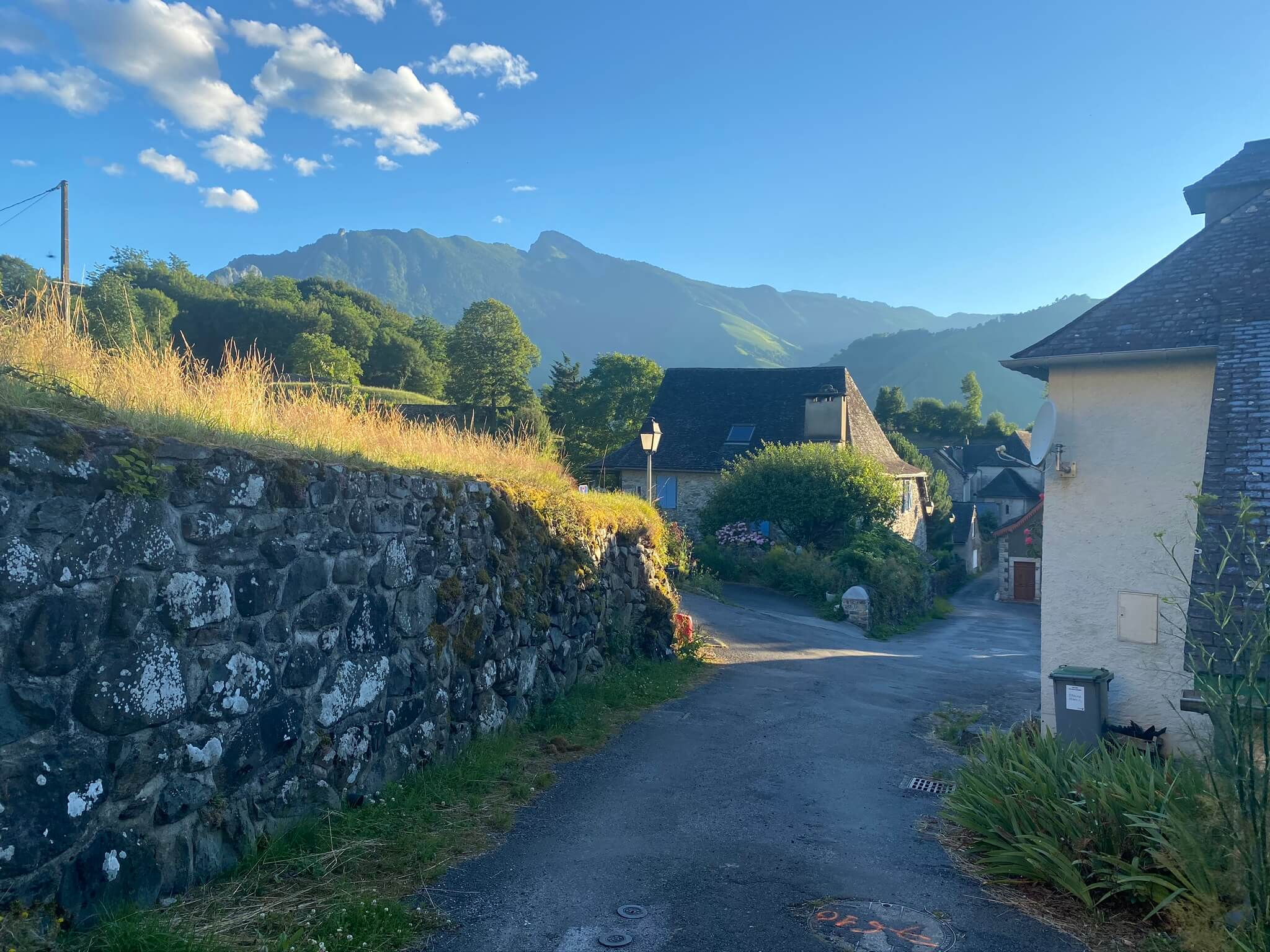 Intersection avec le chemin de Saint Jacques de Compostelle